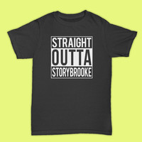 Once Upon A Time Inspired t shirt Straight Outta Storybrooke' Tshirt - Gift for friend - Present
