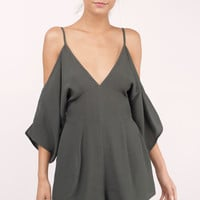 Coast By Off Shoulder Romper