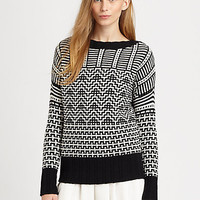 Theory - Fretta Textured Sweater