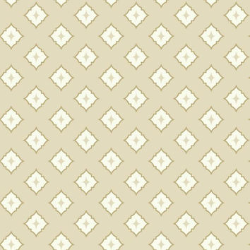 Sample Moroccan Spot Wallpaper in Beige design by York Wallcoverings