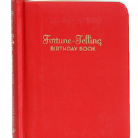 Fortune Telling Book for Birthdays