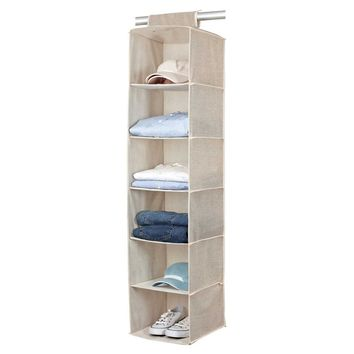 Six Shelf Sweater Organizer