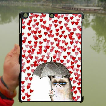 Grumpy Cat Valentines iPad Case,iPad mini Case,iPad Air Case,iPad 3 Case,iPad 4 Case,ipad case,ipad cover, ipad mini cover ipad air,iPad 2/3/4-028
