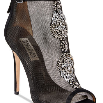 Badgley Mischka Rana Evening Booties