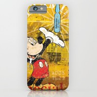 Mickey Mouse Special K iPhone & iPod Case by Francesco Salerno