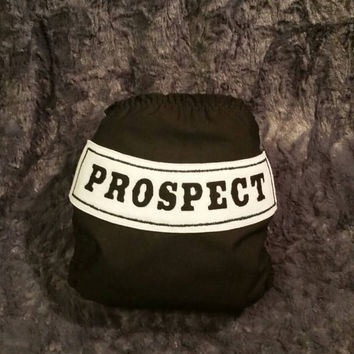Prospect Biker All In One (AIO) Cloth Diaper - One-Size or Newborn, S, M, L