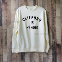 Clifford is My Homie Shirt Michael Clifford Shirt Sweatshirt Sweater – Size XS S M L XL