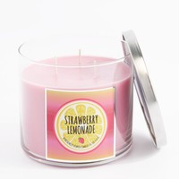 3-Wick Strawberry Lemonade Scented Candle | 3-Wick Candles | rue21