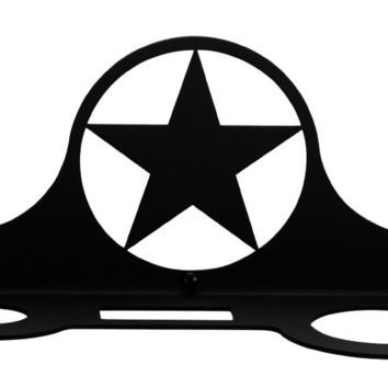 Wrought Iron Star Hair Dryer Holder Rack