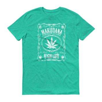 Marijuana Jack Mens Short-Sleeve T-Shirt