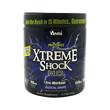 Advance Nutrient Science Pro-Series Xtreme Shock N.O.