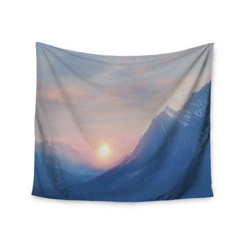 "Viviana Gonzalez ""Pastel Vibes 08 "" Blue Pink  Wall Tapestry"