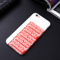 New Supreme Iphone 6 6s Plus Cover Case + Nice Gift  Box