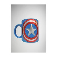 20 oz. Captain America Laser Coffee Mug - Spencer's