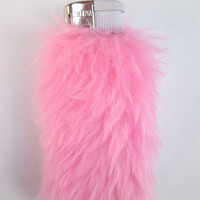 Kawaii Pink Lighter Case, Baby Pink Bic Lighter Cover, Faux Fur, 90s Clueless