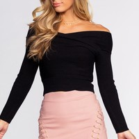Side To Side Mini Skirt - Rose