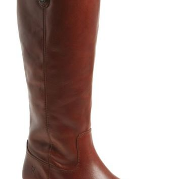 Frye 'Melissa Button' Leather Riding Boot (Women) | Nordstrom