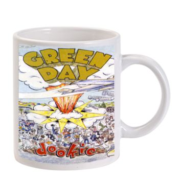 Gift Mugs | Green Day Dookie American Punk Rock Ceramic Coffee Mugs