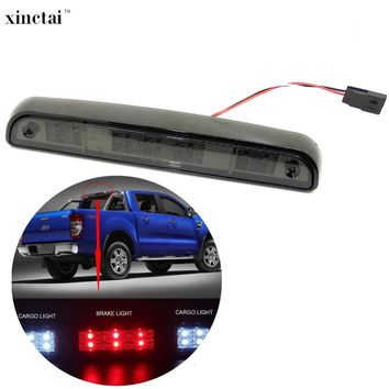 1PC High Mount LED Rear Stop 3rd Third Brake Light Cargo Stop Lamp for Ford F250 F350 F150 Bronco 1997 1996 1995 1994 Smoke Lens