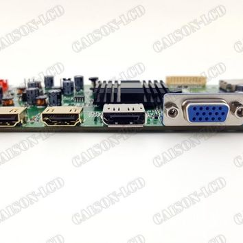 HDMI+VGA+DP 4K LCD controller board support 3840* 2160@60HZ LCD