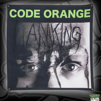 CODE-ORANGE-KING-FLAG