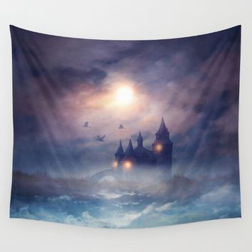 Sunset I C. III Wall Tapestry by Viviana Gonzalez