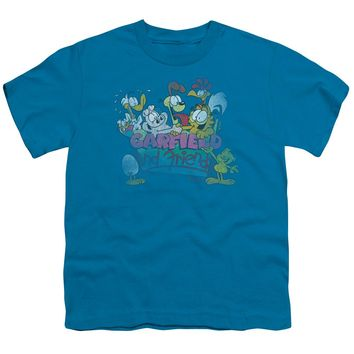 Garfield - Garfield And Friends Short Sleeve Youth 18/1