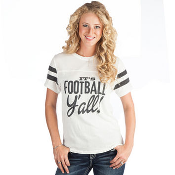 Women's ATX Mafia It's Football Y'all T-Shirt