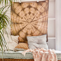 Graham Keegan Brown Shibori Tapestry - Urban Outfitters