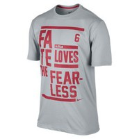 Nike Store. LeBron Witness Meets Fate Men's Basketball T-Shirt