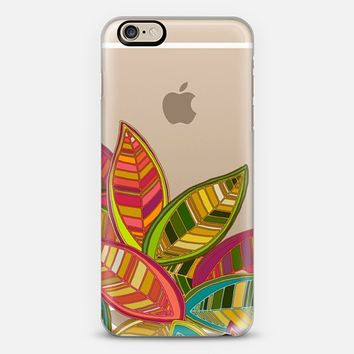 leaf fall transparent iPhone 6 case by Sharon Turner | Casetify