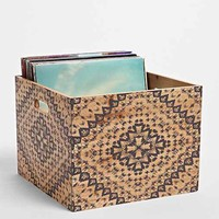 Magical Thinking Mandala Wood Storage Crate