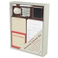 Personal Library Kit - The Best Gift for a Book Lover!