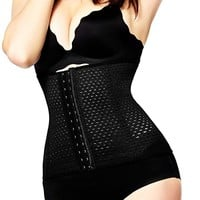 Belt Steel Boned Corset Shapewear