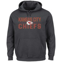 Kansas City Chiefs NFL Kick Return Hoodie (Charcoal)
