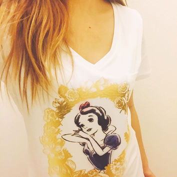 Snow White Floral Pocket Shirt | Disney