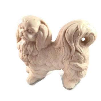 Pekingese Figurine, Avon Royal Pekingese Fernerie Decorative Pomander