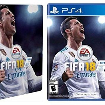 FIFA 18 & Limited Edition Steelbook - PlayStation 4