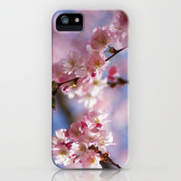Dream pastell Bloosom iPhone Case by Tanja Riedel