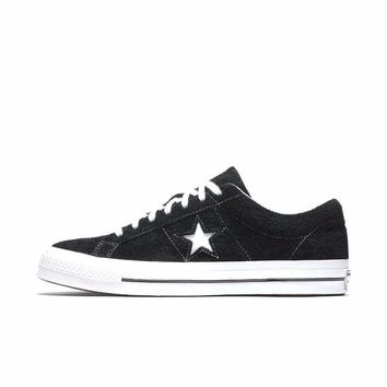 Best Deal Online Nike Converse One Star 74 Black White Men Women Sneaker Sport Shoes