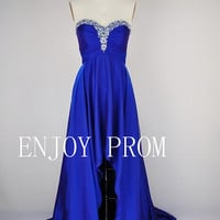 A-line Sweetheart Beading Chiffon floor-Length Bridesmaid/Evening/Prom Dress