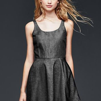Gap Women Ballet Fit & Flare Dress