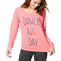 Dance All Day Sweatshirt - Red