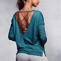 Wrap V-back Top - Super Soft Knits - Victoria's Secret