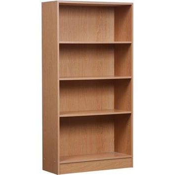 Oak Orion 4-shelf Bookcase