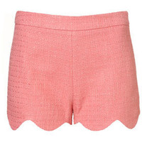 Co-ord Scallop Edge Shorts - Sensationalist  - Collections