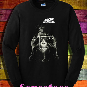 arctic monkeys shirt the arctic monkeys long sleeve shirt tshirt t-shirt tee shirt black color unisex size