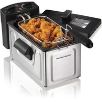 Walmart: Hamilton Beach 2-Liter Deep Fryer, Stainless Steel