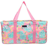 "Simply Southern ""Hibiscus"" Utility Tote"