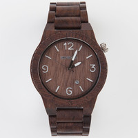Wewood Alpha Watch Chocolate One Size For Men 22706940201